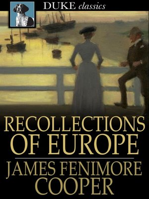 cover image of Recollections of Europe