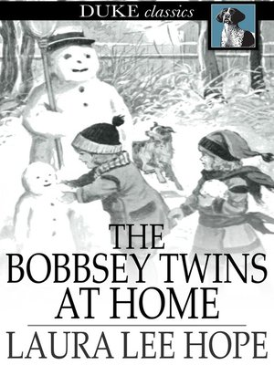 cover image of The Bobbsey Twins at Home