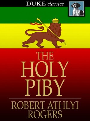 cover image of The Holy Piby