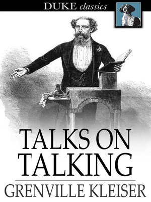 cover image of Talks on Talking