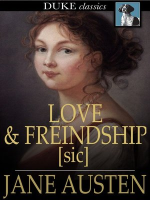 cover image of Love and Freindship [sic]