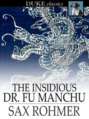 cover image of The Insidious Dr. Fu-Manchu