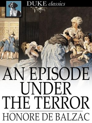 cover image of An Episode Under the Terror