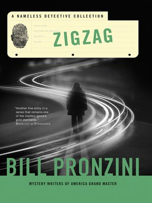 cover image of Zigzag--A Nameless Detective Collection