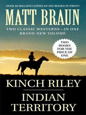 cover image of Kinch Riley / Indian Territory