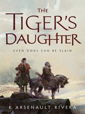 cover image of The Tiger's Daughter