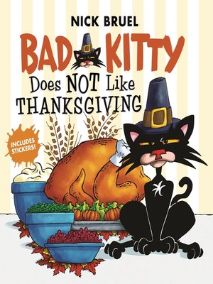 cover image of Bad Kitty Does Not Like Thanksgiving