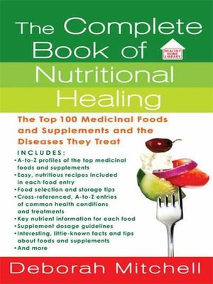 cover image of The Complete Book of Nutritional Healing
