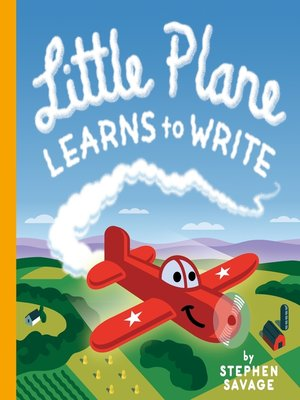 cover image of Little Plane Learns to Write
