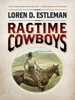 cover image of Ragtime Cowboys