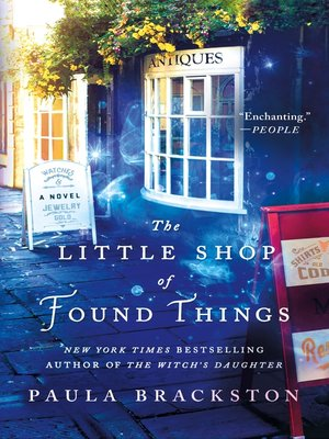 cover image of The Little Shop of Found Things