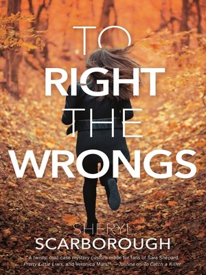 cover image of To Right the Wrongs