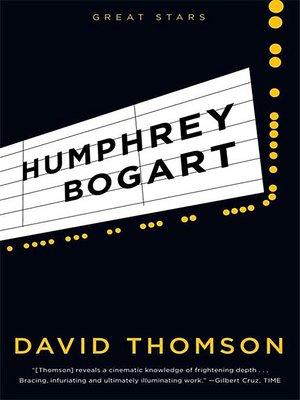 cover image of Humphrey Bogart