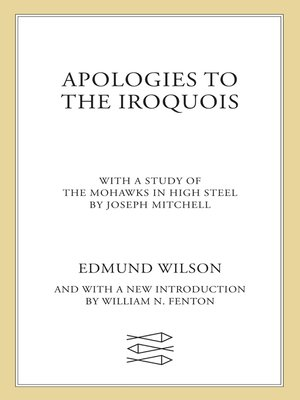 cover image of Apologies to the Iroquois