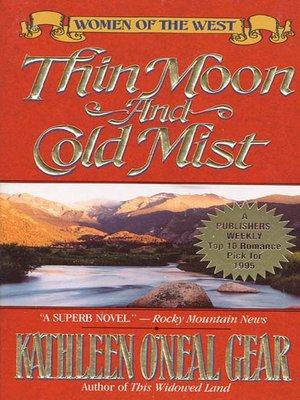 cover image of Thin Moon and Cold Mist