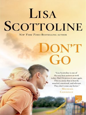 cover image of Don't Go