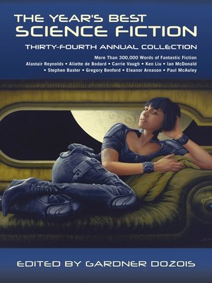 cover image of The Year's Best Science Fiction: Thirty-Fourth Annual Collection