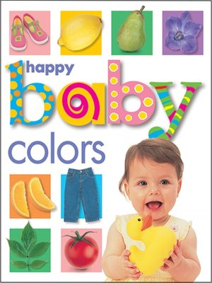 cover image of Happy Baby: Colors