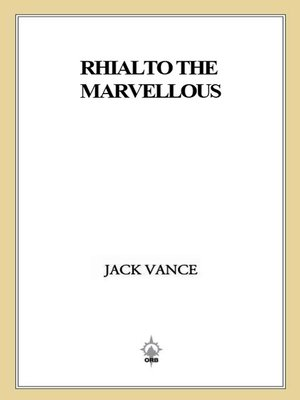 cover image of Rhialto the Marvellous