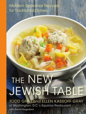 cover image of The New Jewish Table