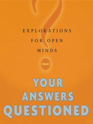 cover image of Your Answers Questioned