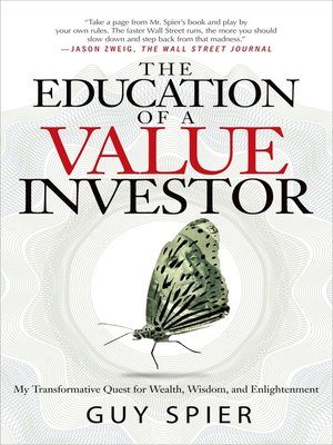 cover image of The Education of a Value Investor
