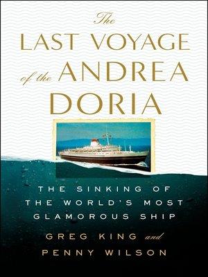 The Last Voyage of the Andrea Doria Book Cover
