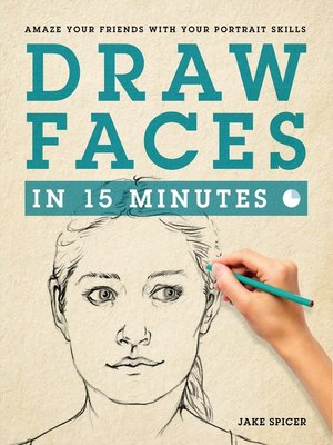cover image of Draw Faces in 15 Minutes