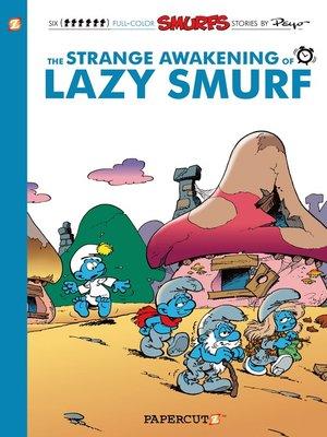 cover image of The Strange Awakening of Lazy Smurf