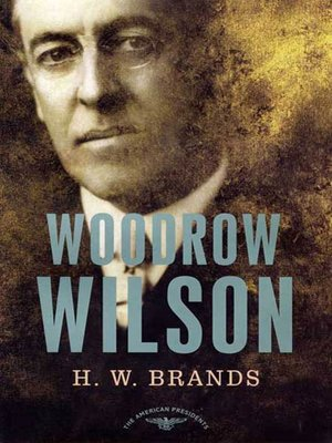 cover image of Woodrow Wilson
