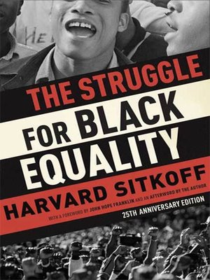 cover image of The Struggle for Black Equality