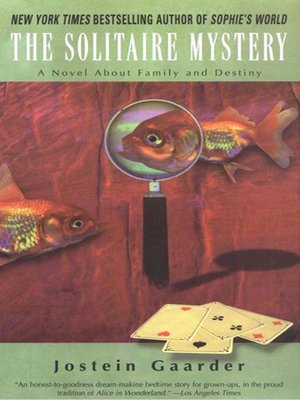cover image of The Solitaire Mystery