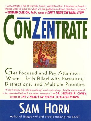 cover image of ConZentrate