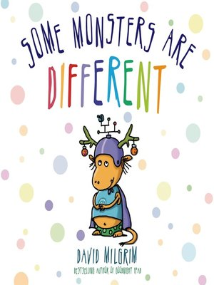 cover image of Some Monsters Are Different