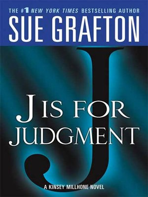 "cover image of ""J"" is for Judgment"