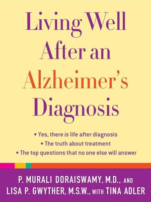 cover image of Living Well After an Alzheimer's Diagnosis