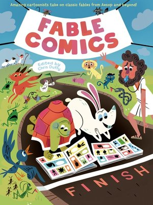 cover image of Fable Comics