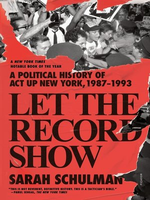 cover image of Let the Record Show
