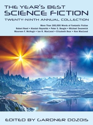 cover image of The Year's Best Science Fiction, Twenty-Ninth Annual Collection