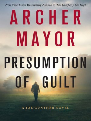 cover image of Presumption of Guilt