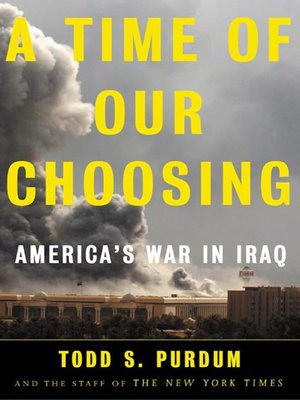 cover image of A Time of Our Choosing