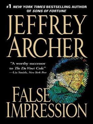 cover image of False Impression