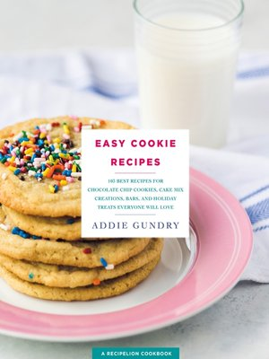 cover image of Easy Cookie Recipes
