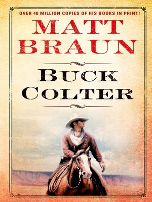 cover image of Buck Colter