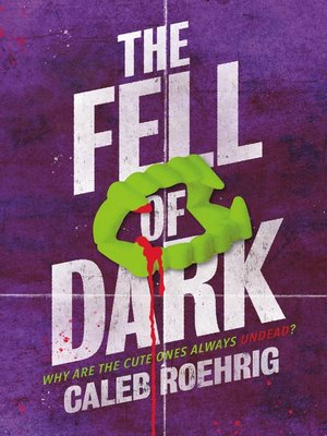 cover image of The Fell of Dark