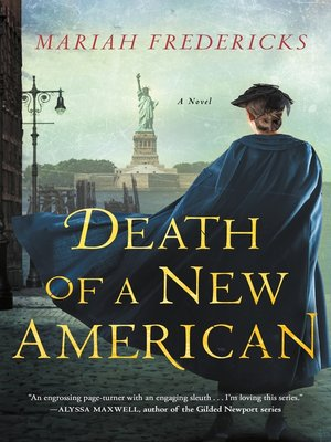 cover image of Death of a New American--A Novel