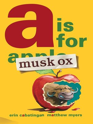 cover image of A Is for Musk Ox