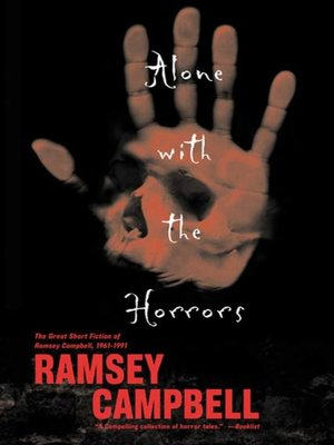 cover image of Alone with the Horrors