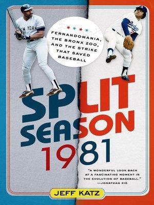 cover image of Split Season, 1981