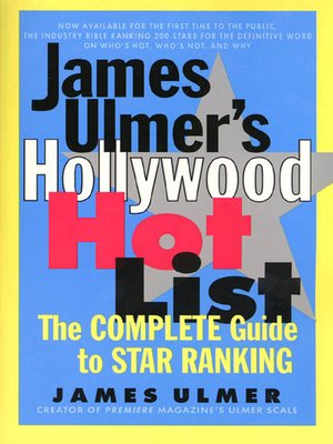 cover image of James Ulmer's Hollywood Hot List